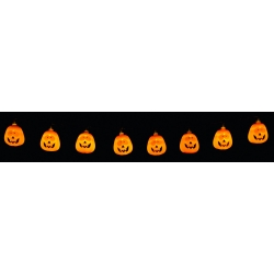 20 LED Pumpkin Lights Halloween Decoration
