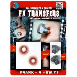 Frank n Bolt 3D FX Transfer Hollywood Quality Horror Makeup