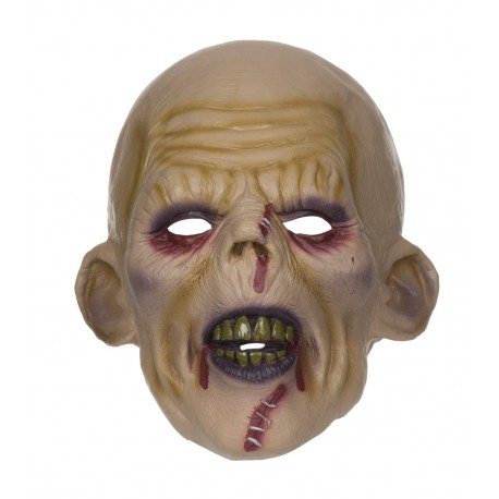 Zombie Stitched Halloween Horror Mask