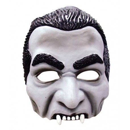 Dracula Half Face Halloween Horror Mask