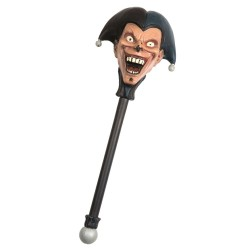 Jester Staff Evil Clown Halloween Costume Accessory