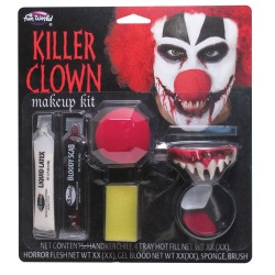 Killer Clown Halloween Make Up Kit