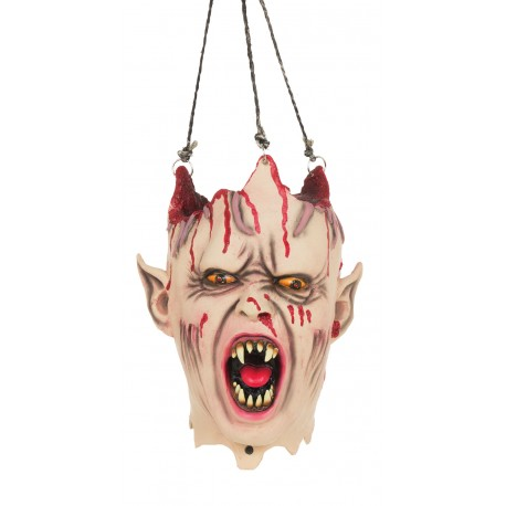 Vampire Hanging Head Halloween Horror Prop