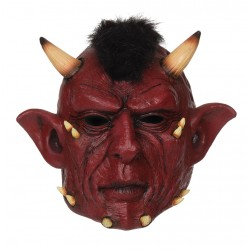 Devil Full Head Halloween Mask