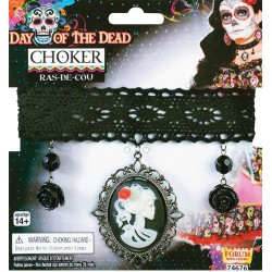 Day Of The Dead Choker