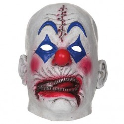Zipper Clown Halloween Horror Mask