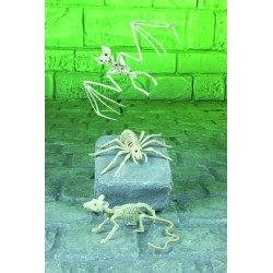 Mini Creature Skeletons Halloween Decorations