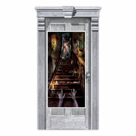 Haunted Mansion Halloween Door Decoration