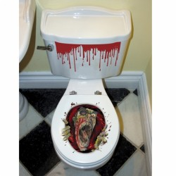 Toilet Grabber Halloween Decoration
