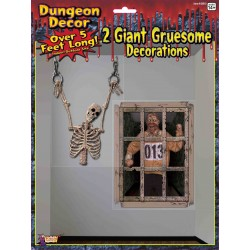 Dungeon Decoration Halloween Scene Setter