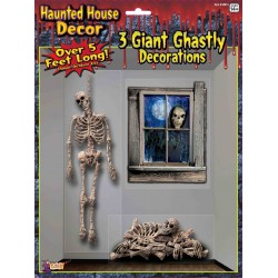 Haunted House Halloween Scene Setter
