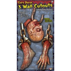 Gore Wall Decor Halloween Scene Setter