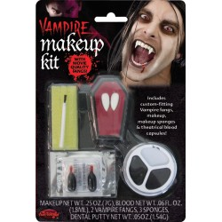 Vampire Fancy Dress Halloween Horror Make Up Kit