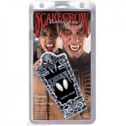 Scarecrow Deluxe Custom Fangs Halloween Horror Makeup