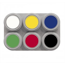 Grimas 6 Colour Face Paint Palette