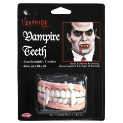 Vampire Teeth Halloween Fancy Dress Horror Makeup