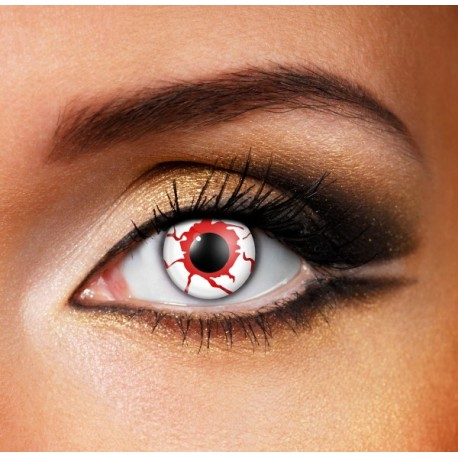 Bloodshot Halloween Contact Lenses