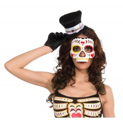 Day Of The Dead Heart Mask