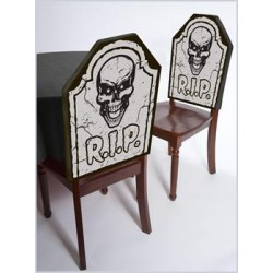 Tomb Stone Chair Covers Halloween Decoration