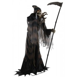 Lunging Reaper Animated Halloween Horror Prop