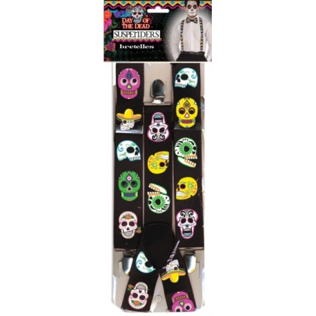 Day Of The Dead Halloween Braces
