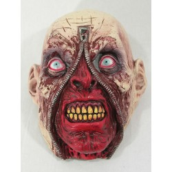 Zipper Head Halloween Mask