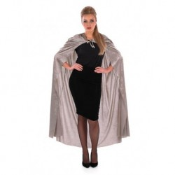 Full Length Velour Hooded Cape