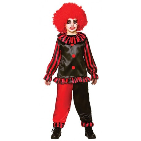 Evil Clown Boys Halloween Costume
