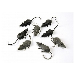 Small Mice Scary Halloween Creatures