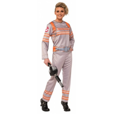 Ghostbusters Jumpsuit Ladies Halloween Costume