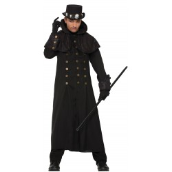 Warlock Coat Halloween Fancy Dress Costume