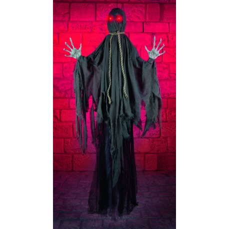 Hanging Faceless Reaper Halloween Horror Prop