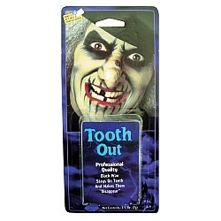 Tooth Blackout Halloween Fancy Dress Horror Makeup
