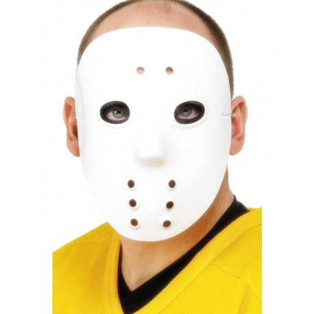 Goalie Hockey Deluxe Halloween Horror Mask