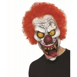 Twisted Clown Halloween Mask