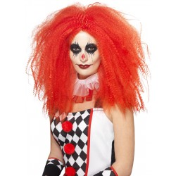 Crimped Clown Wig