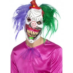 Kolourful Killer Klown Mask