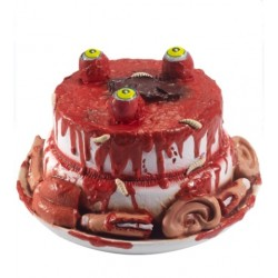 Gory Gourmet Zombie Cake Prop