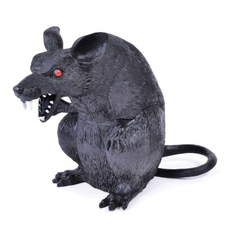 Sitting Halloween Rat