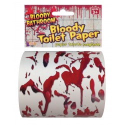 Bloody Halloween Toilet Paper