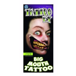 2 Faced Big Mouth Tattoo FX