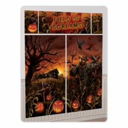 Field Of Screams Halloween Wall Decorating Kit
