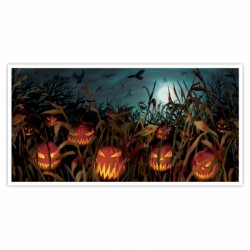 Field Of Screams Halloween Banner