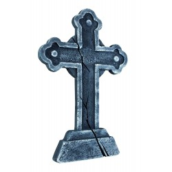 Tombstone Cross Halloween Prop