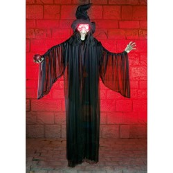 Witch With Light & Sound Halloween Prop