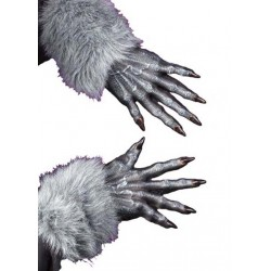 Werewolf Gley Gloves Halloween Costume Accessory