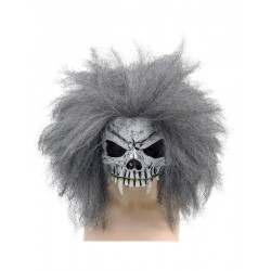 Skull Half Face Halloween Horror Mask