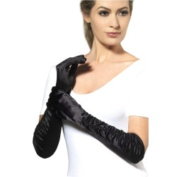 Gloves Black / Red Halloween Costume Accessory