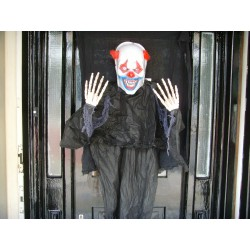 Scary Hanging Clown Halloween Horror Prop