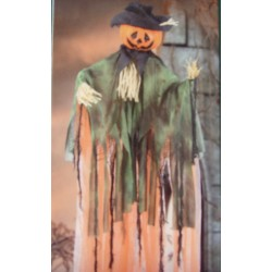 Hanging Pumpkin Man Halloween Decoration